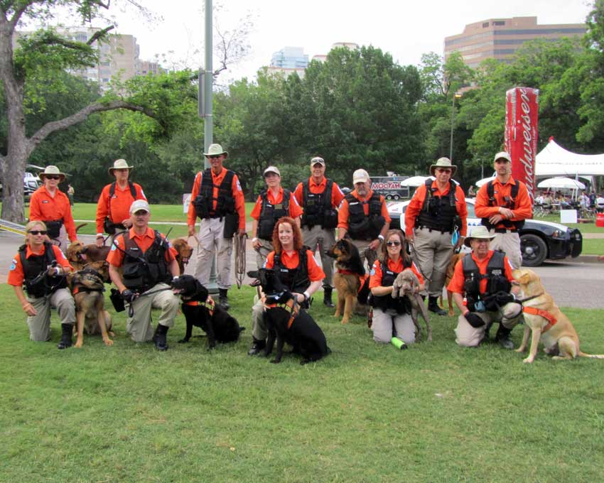 CTL Start - Search One Rescue Team - Dallas Ft. Worth K9 Search and Rescue